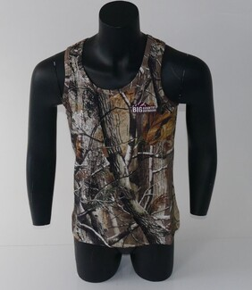 Big Country Outdoors Camo Singlet- Cotton