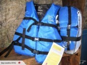 Adult Universal Life Vest Four Pack